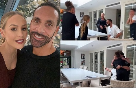 Kate and Rio Ferdinand announce they are expecting first child together