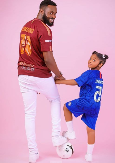 DJ Neptune celebrates his daughter on her 5th birthday