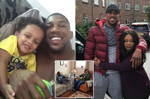 Anthony Joshua has earned £61million – and has spent none of it on himself