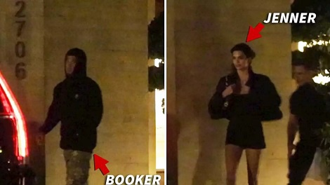 Kendall Jenner cosies up to NBA star Devin Booker at dinner amid romance rumours