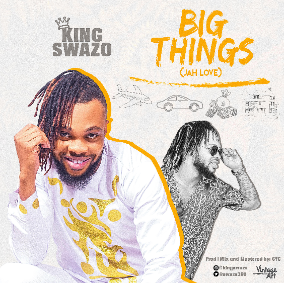 "Fast rising gospel reggae artist King Swazo serves us with ""Big things"" (Jah Love) visuals."