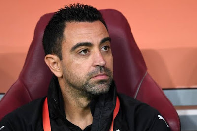 Barcelona legend Xavi contracts coronavirus