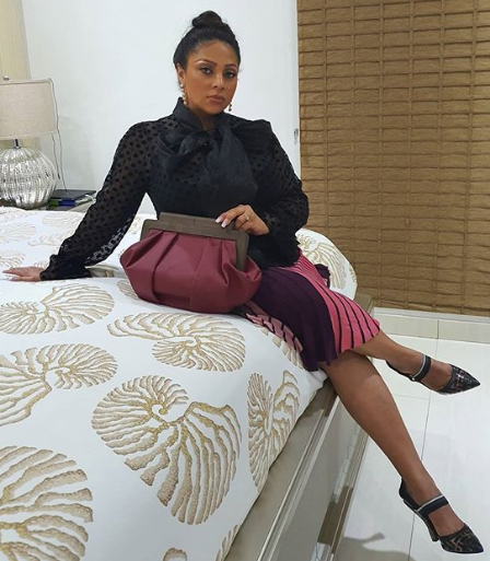 Peter Okoye's wife, Lola speaks on her Covid-19 experience