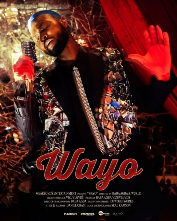 "WurlD release visuals for buzzing single ""Wayo"""