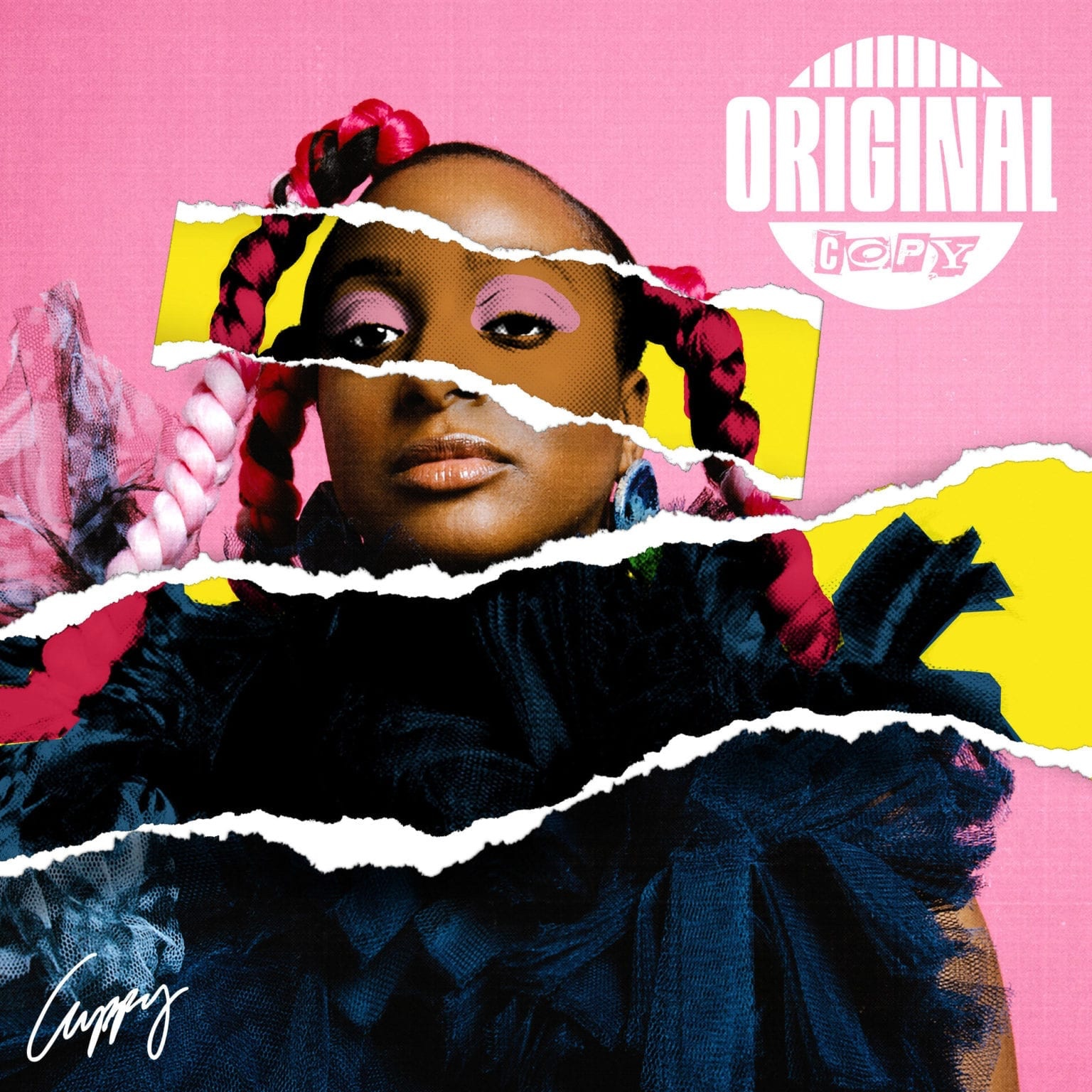 "DJ Cuppy Unveils Artwork For ""Original Copy"""