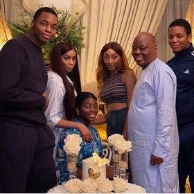 Beautiful new photos of Shade Okoya and her family