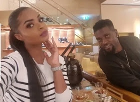 Emmanuel Adebayor and Dillish Mattews unfollow and delete each other's photos on IG as he flaunts new woman