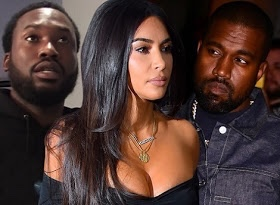 Meek Mill responds to Kanye's suggestion Kim cheated with him, calls it Bullsh*t