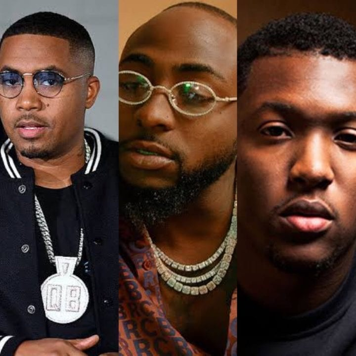 Davido, Nas & Hit-Boy Tease new Collaboration