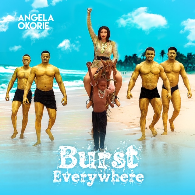 "Angela Okorie makes wave with her debut album titled ""Burst Everywhere"" ."