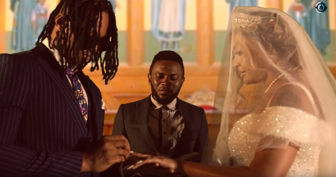 "Angela Okorie surprises with a wedding themed visuals for ""Baby Chuchu"""