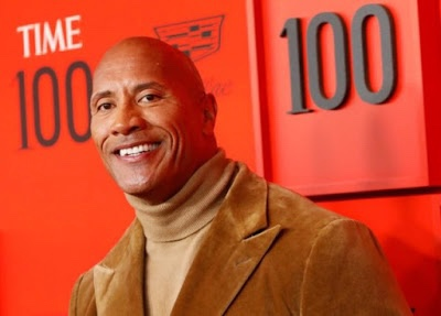 Dwayne 'the Rock' Johnson tops Forbes' lists of highest-earning male actors of 2020