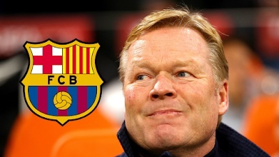 Barcelona officially appoint Ronald Koeman as new manager
