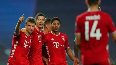 Bayern thrash Lyon 3-0 to set up final clash with PSG