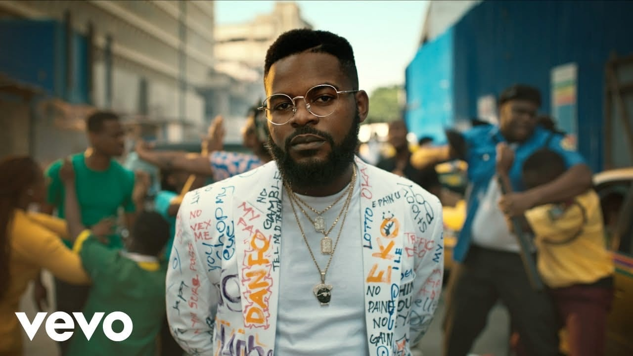 Falz unlocks the visuals for 'One Trouser'