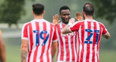 Mikel Obi scores in first game for Stoke City