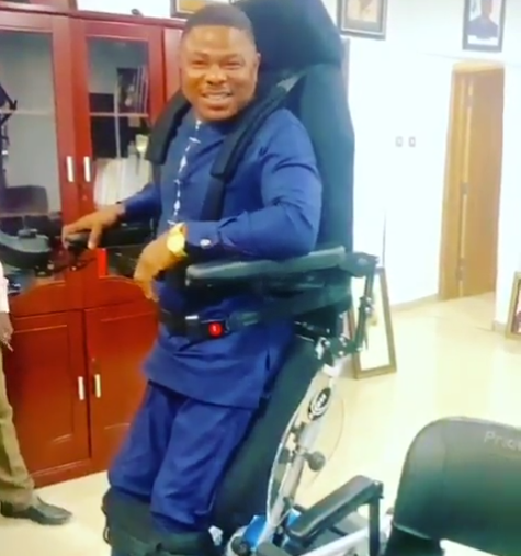 """I feel so relieved"" – Yinka Ayefele stands on his feet again"