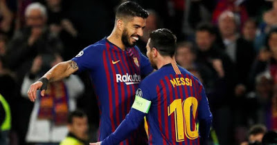 Messi slams Barcelona over Suarez exit