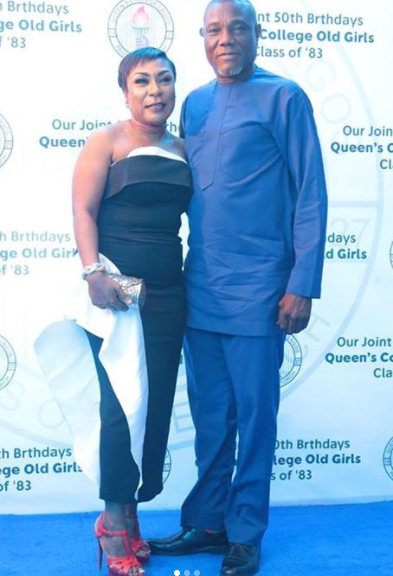 Burna Boy's parents celebrate 30th wedding anniversary