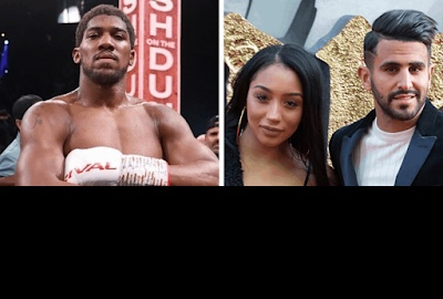 Anthony Joshua denies alleged affair with Mahrez's wife