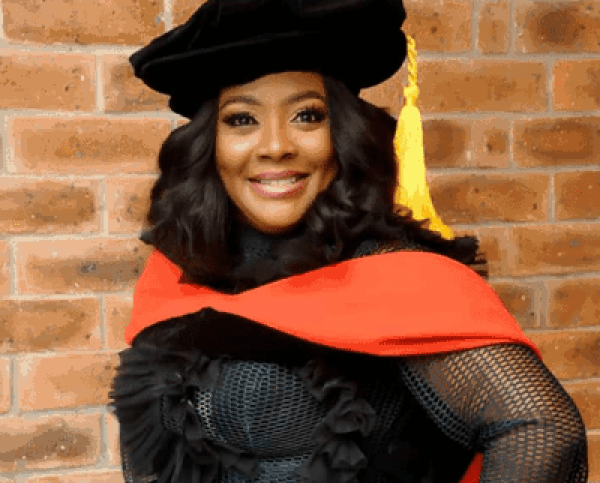 Helen Paul studying to become a professor in U.S.