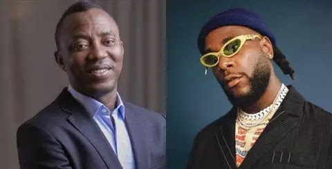 Falana is your lawyer, invite Falz his son for protest instead of Burna Boy, Nigerians tell Sowore