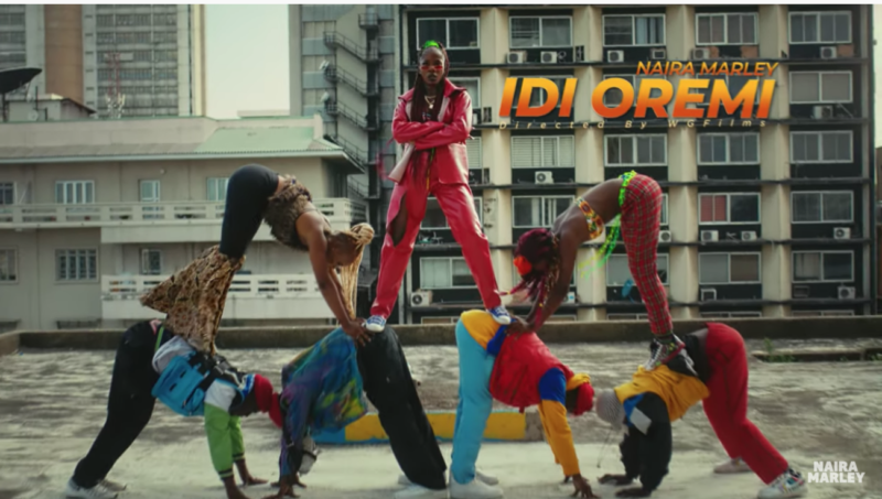 "Marlian Music releases a brand new visuals, ""Idi Oremi Video"" performed by the Presido – Naira Marley."
