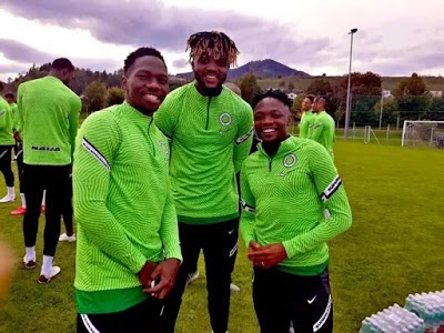 Ahmed Musa, Onuachu land in Super Eagles camp in Austria
