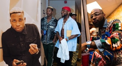 Davido dumps singer Lil Frosh for attacking his girlfriend