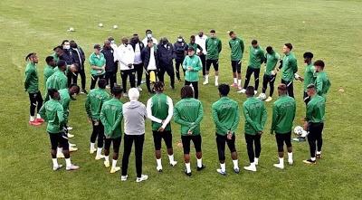 Nigeria vs Tunisia: Two key Super Eagles players leaves camp