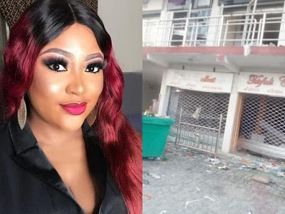 Despite Doris Ogala calling her out, Uche Elendu allegedly set up GoFundMe account for looted store
