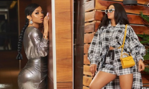 Toke Makinwa tests positive for coronavirus