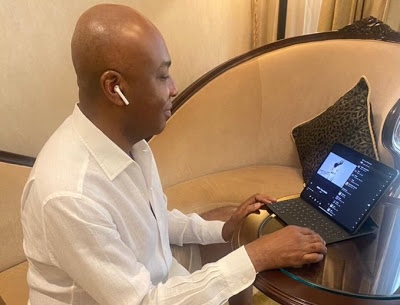 Nigerian Politician Saraki jumps on Wizkid's latest album, calls it a brilliant end