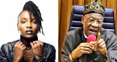 DJ Switch breaks her silence to come for Lai Mohammed