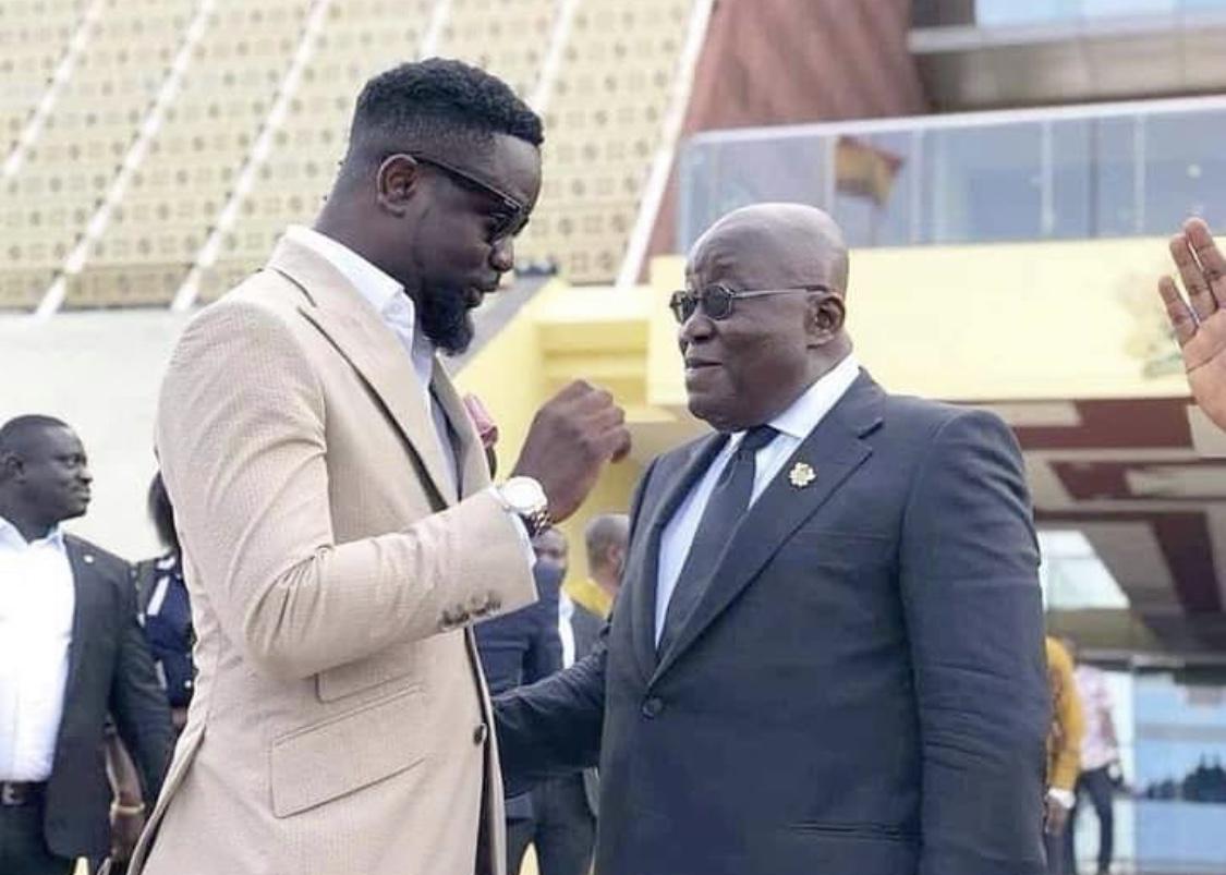 Sarkodie spotted with President Nana Akufo Ado