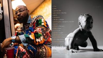 Davido unveils tracklist for 'A Better Time' album