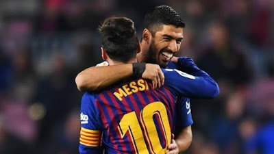 Champions League: 'No one helps Messi' – Luis Suarez reacts to Barcelona 3-0 lost to Juventus
