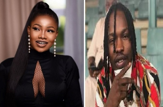 Naira Marley sends flowers to Tacha… tells her my heart and soul belongs to you [video]