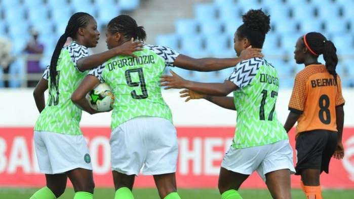 Nigeria, Ghana move up in latest Fifa women's rankings