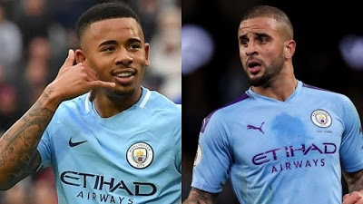 Blow for Man City as Jesus, Walker test positive for COVID-19