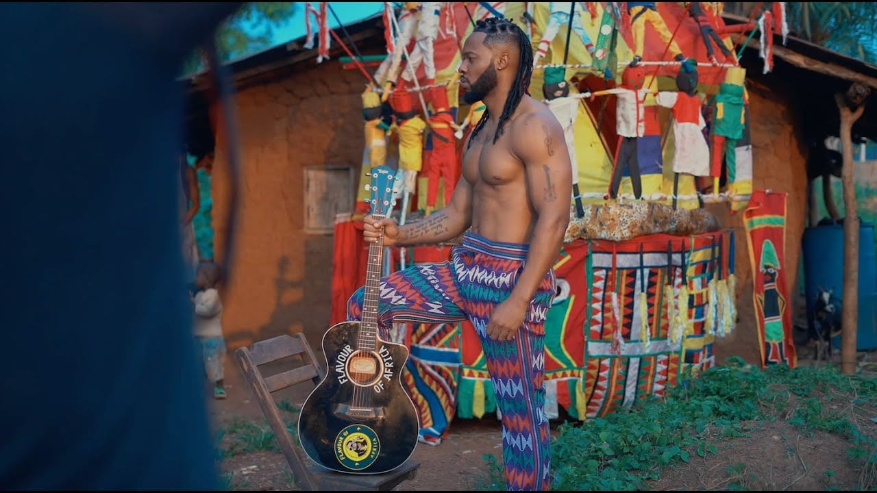 Flavour shares the video for 'Umu Igbo' feat. Biggie Igba