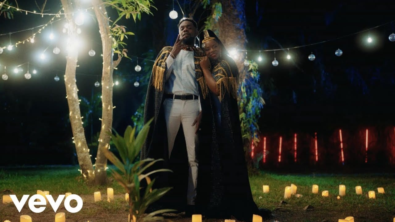 Patoranking & Flavour serve 'Mon Bebe' video, starring Yemi Alade