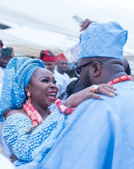 Omawumi and husband celebrate 3rd wedding anniversary