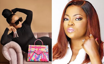 Toke, Rita Dominic inspires Funke Akindele's fashion style