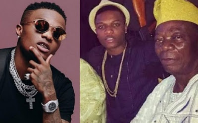 My father made me a better father to my children – Wizkid