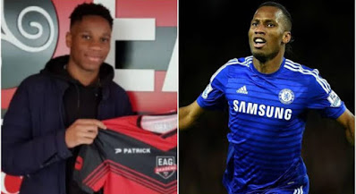 Didier Drogba's son signs for Italian fourth division club