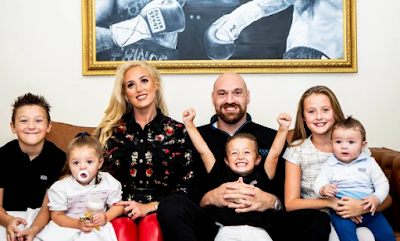 Tyson Fury reveals his wife is pregnant with their sixth child