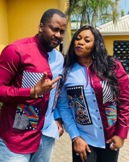 Desmond Elliot's wife celebrates him as he turns a year older