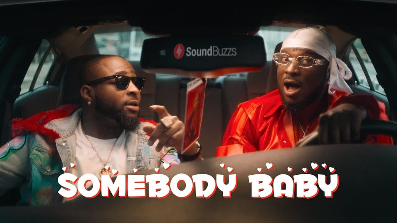 Peruzzi & Davido serves another hot visuals named, 'Somebody Baby'