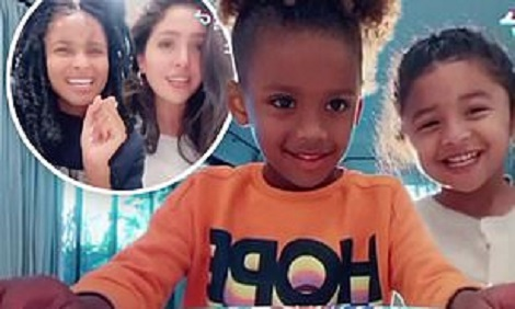 Ciara and Vanessa Bryant's daughters enjoy fun time together
